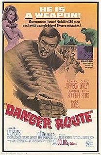 <i>Danger Route</i> 1967 film by Seth Holt