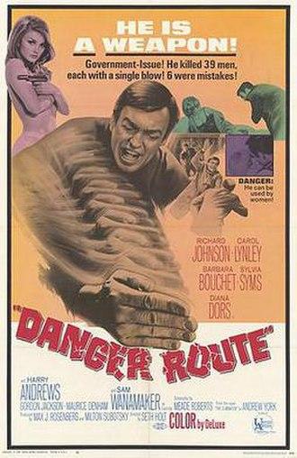Danger Route - Original film poster