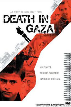 Death in Gaza - DVD cover