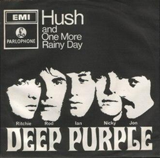 Hush (Billy Joe Royal song) - Image: Deeppurplehushps