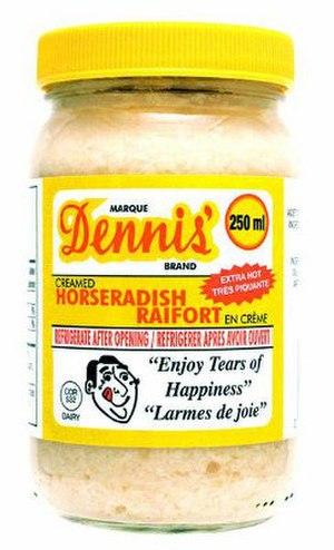 Dennis' Horseradish - Dennis' Horseradish
