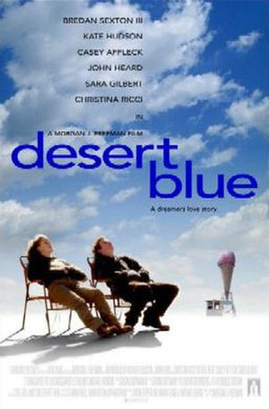 Desert Blue - Theatrical release poster