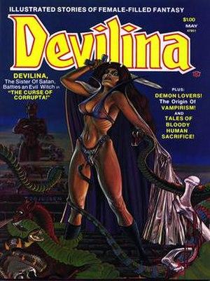 Atlas/Seaboard Comics - Image: Devilina 2