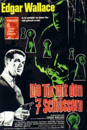 The Door with Seven Locks (1962 film) - Film poster