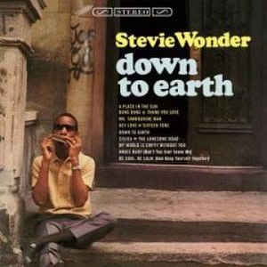 Down to Earth (Stevie Wonder album) - Image: Downtoearthsteviewon der