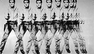 <i>Eight Elvises</i> painting by Andy Warhol
