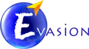 Évasion - Evasion's logo, 2002-2008. This logo served as an inspiration for the current logo.