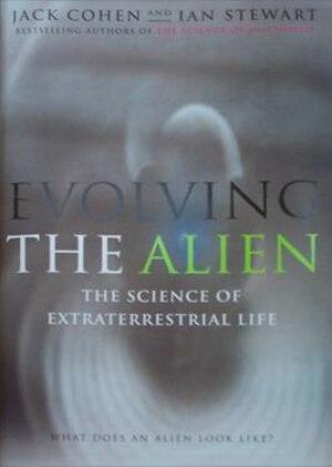 Evolving the Alien - Cover, first UK hardback edition