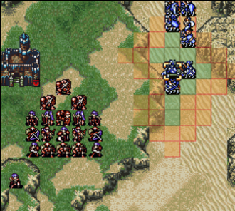 Fire Emblem: Genealogy of the Holy War - When selected during their turn, each player unit has their range of movement displayed.