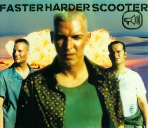 Faster Harder Scooter - Image: Fasterharderscooter cover