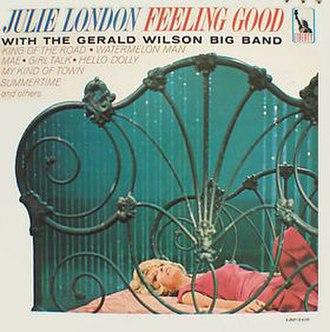Feeling Good (Julie London album) - Image: Feeling Good cover