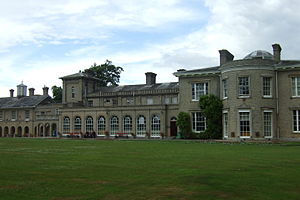 Great Finborough - Finborough Hall, purchased in 1794 and rebuilt by Roger Pettiward (d.1833) and sold in 1935 by the Pettiward Estate, in 2015 used as Finborough Hall School