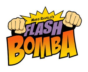 Komiks Presents: Flash Bomba - Image: Flash Bomba Title Card