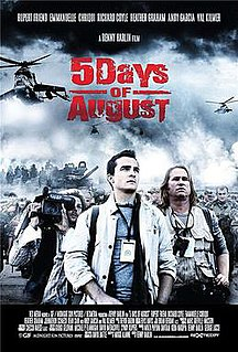 <i>5 Days of War</i> 2011 action film directed by Renny Harlin