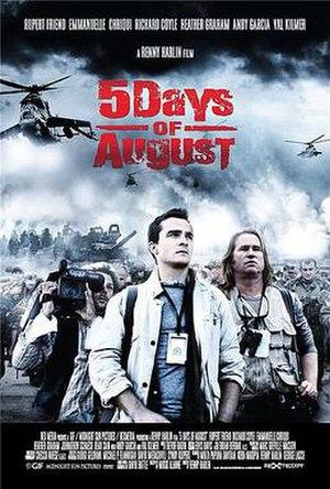 5 Days of War - Official teaser poster