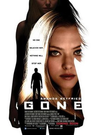 Gone (2012 film) - Theatrical release poster