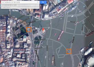 Restrictions on geographic data in China - Google.com Maps display satellite imagery using the WGS-84 coordinate system, and street maps using the GCJ-02 datum