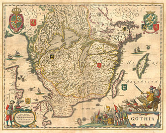 Götaland - Image: Gothia 2