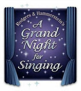 <i>A Grand Night for Singing</i> musical