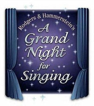 A Grand Night for Singing - Original Logo