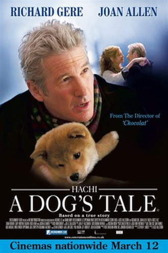 Hachi: A Dog's Tale - Theatrical release poster