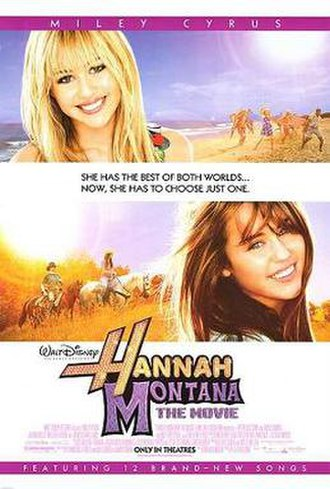 Hannah Montana: The Movie - Theatrical release poster