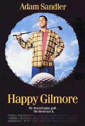 Happy Gilmore - Theatrical release poster