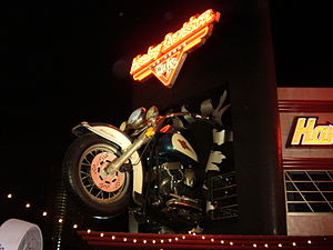 Harley Davidson Cafe in Las Vegas, Nevada