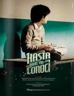 <i>Hasta que te conocí</i> (TV series) Mexican biographical television series