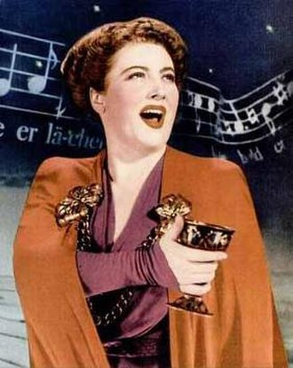 Helen Traubel - Helen Traubel in a 1945 publicity photograph for Columbia Records