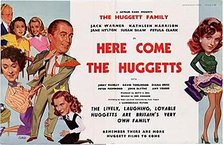 <i>Here Come the Huggetts</i> 1948 British film directed by Ken Annakin