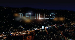 The title screen of The Hills
