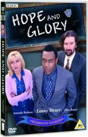 Hope and Glory (TV series) - DVD cover