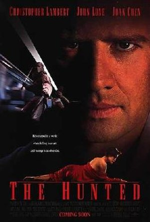 The Hunted (1995 film) - Theatrical release poster