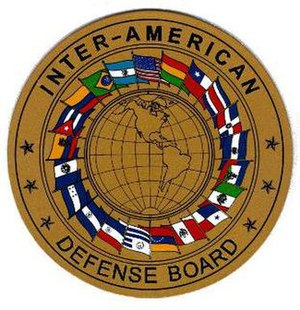 Inter-American Defense Board - IADB Seal