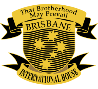 Residential colleges of the University of Queensland - International House shield