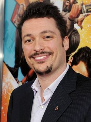 James Vanderbilt - Vanderbilt at the première of The Losers