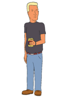 Boomhauer King of the Hill character