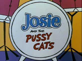 Josie and the Pussycats (TV series) - Image: Josie hannabarbera title