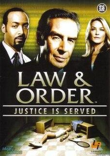 <i>Law & Order: Justice Is Served</i>