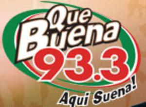 KQBU-FM - KQBU Former Que Buena Logo