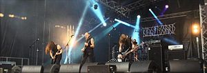King of Asgard - King of Asgard performing at Ragnard Rock Festival, France, 2016