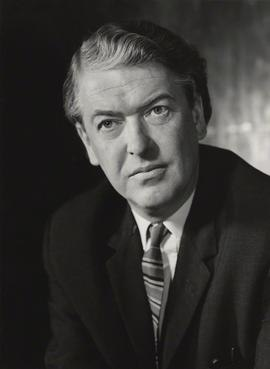 Kingsley Amis in early middle age