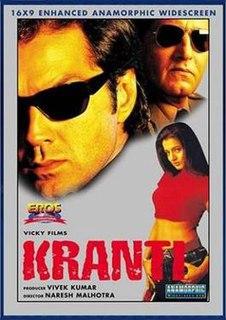 <i>Kranti</i> (2002 film) 2002 Indian film