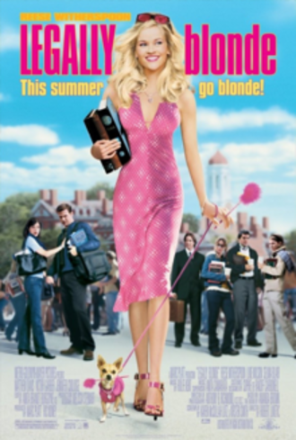 Legally Blonde - Theatrical release poster