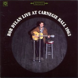 Live at Carnegie Hall 1963 - Image: Live at Carnegie Hall 1963
