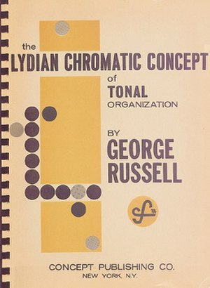 Lydian Chromatic Concept of Tonal Organization - First edition cover