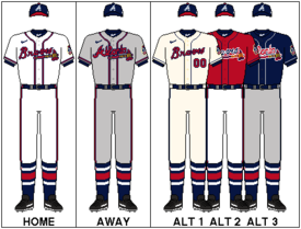 photo regarding Atlanta Braves Schedule Printable identified as Atlanta Braves - Wikipedia
