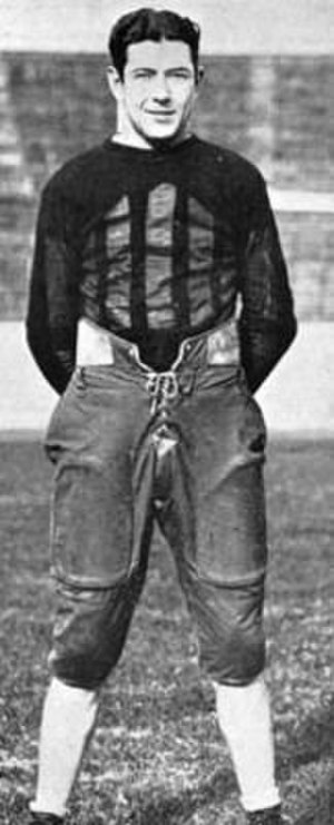 "Johnny Mack Brown - ""Mack"" Brown in football uniform."