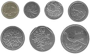 Maltese lira - Image: Maltese coins
